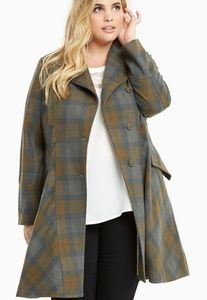 Outlander plaid coat